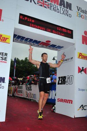 Ironman Finish Robert Jackson