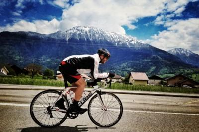 Cycling in France. Tour De France Training