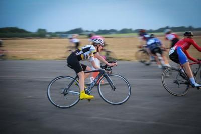 Cyclists at Bovingdon Crit Race