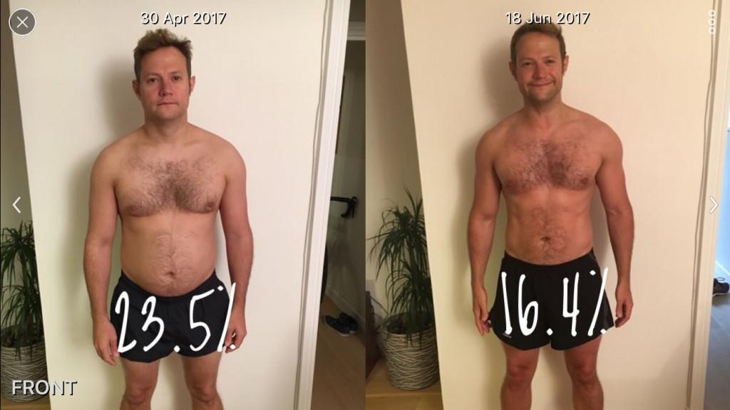 Body Transformation Pic