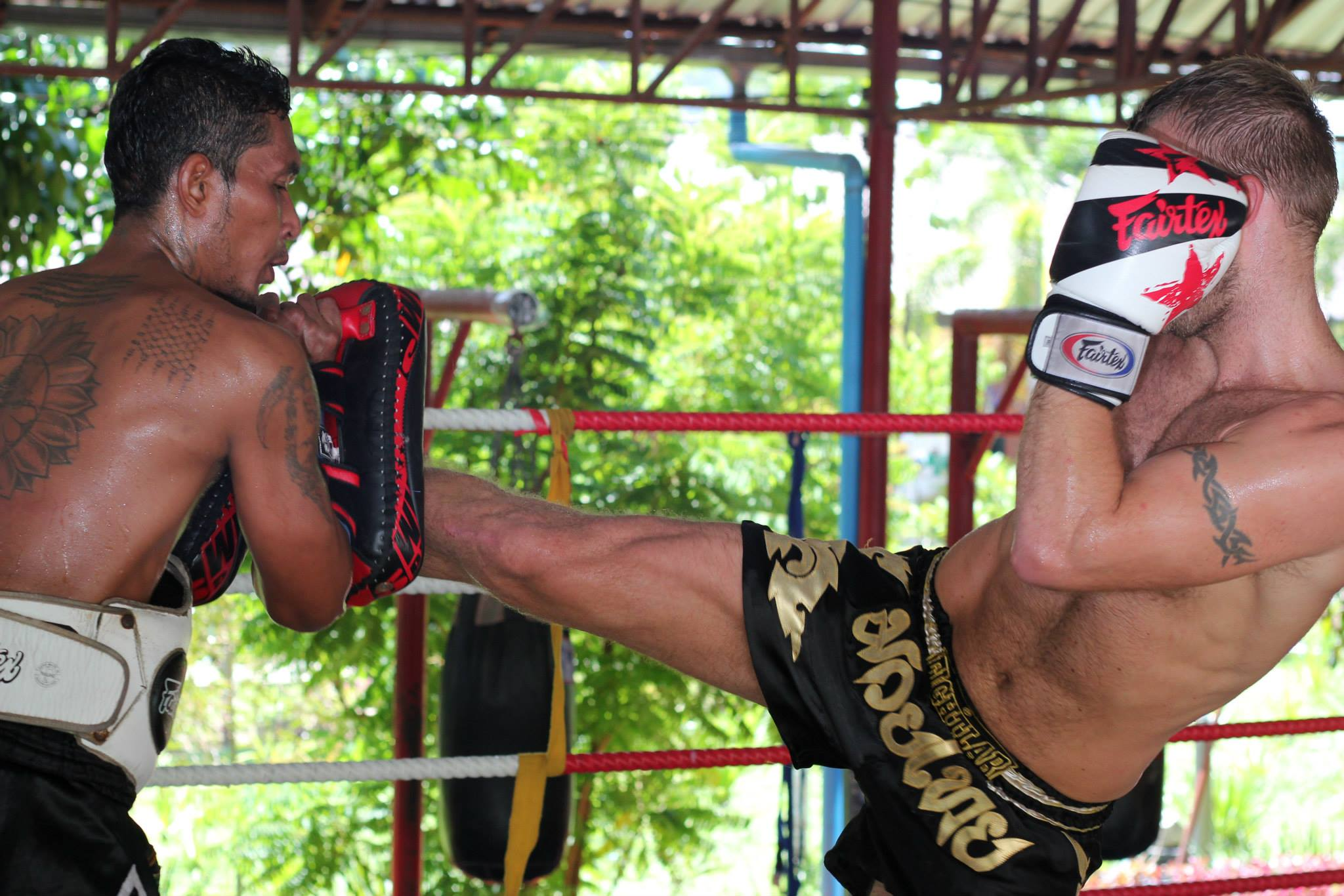 Muay Thai Training in Thailand