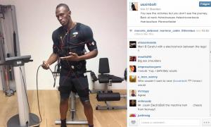 Usain Bolt EMS