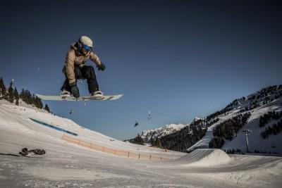 Snowboarding Break from L'Etape Training