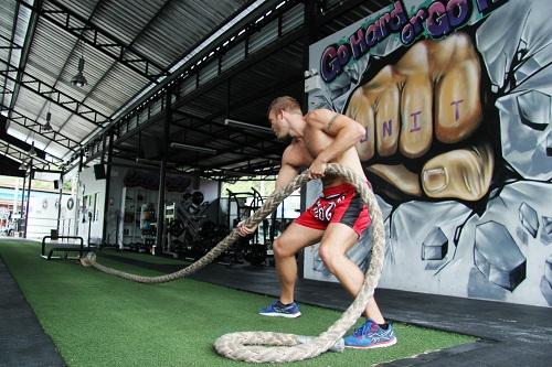Training in Unit 27 Thailand