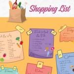 meal plan shopping list
