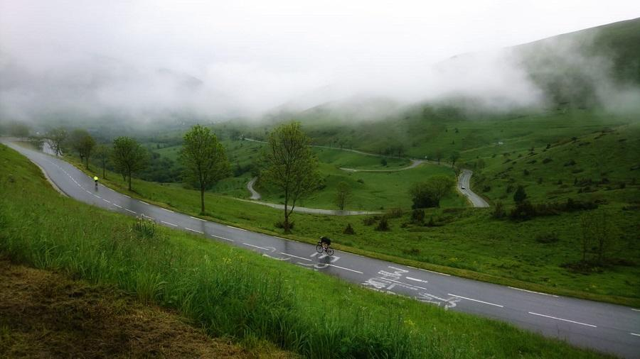 Wet Cycling Pyrenees