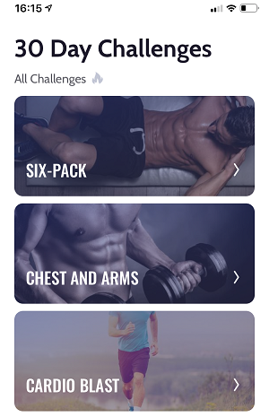 30 Day Workout Challenge
