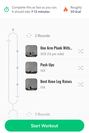 Example Workout