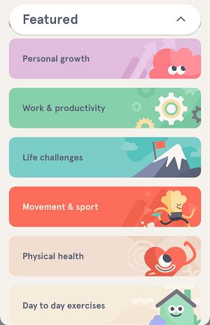 Meditation Categories