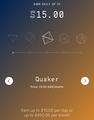 Quaker Plan Sweat Coin