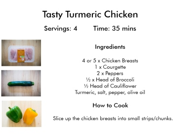 Turmeric Chicken Recipe